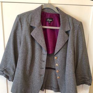 Jackets & Blazers - Gray blazer